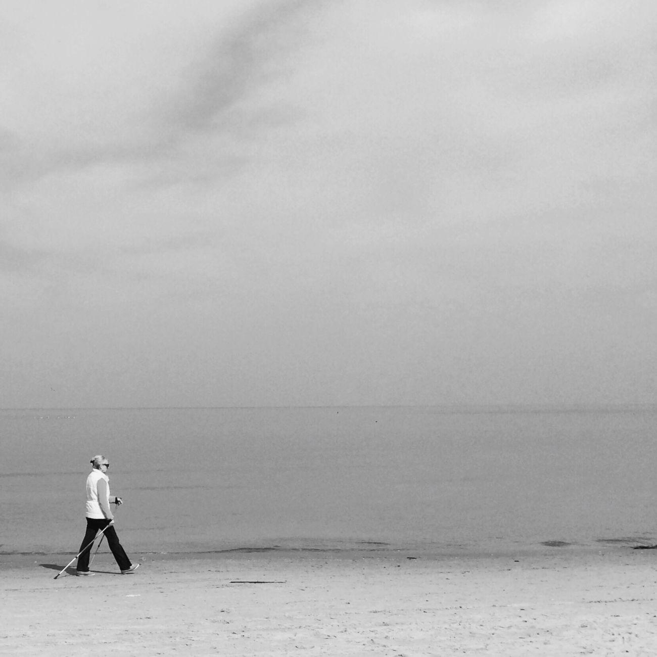 Alone walk Blackandwhite IPSMinimalism EyeEm Best Shots - Black + White NEM Black&white