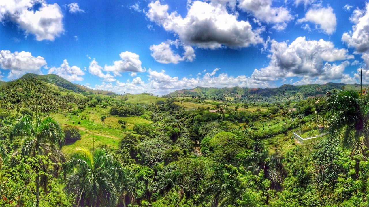 Melancholic Landscapes Landscape IPhoneography Rambo Movie Landscape_Collection Diminican Republic Altos De Chavon La Romana Nature Clouds And Sky