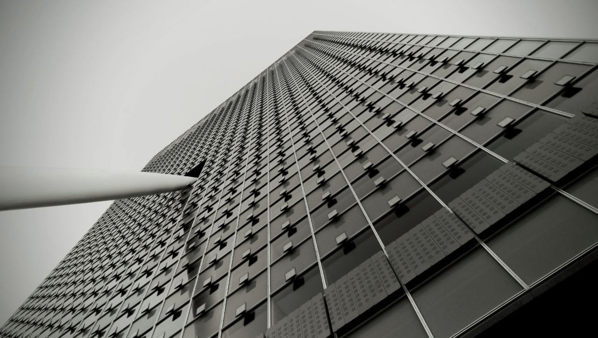 R_arch Architectural Feature Architecture Built Structure Low Angle View No People Office Building Rotterdam Rotterdam Architecture Skyscraper Tall - High