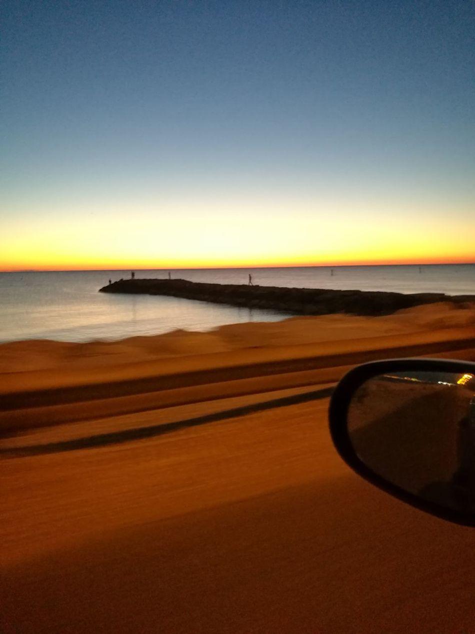 Alba Good Morning Specchietto On The Road Go Back Home