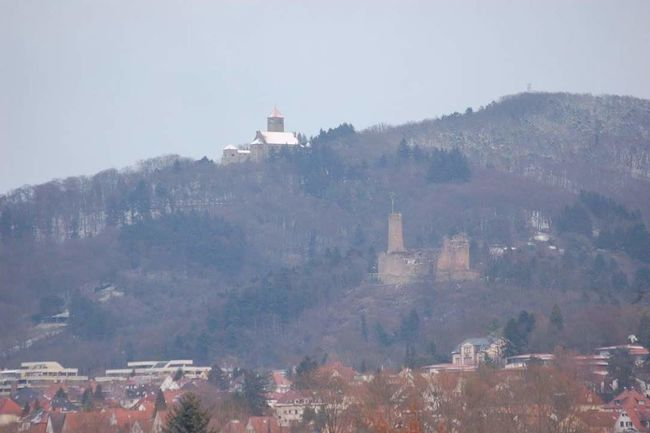 The 2 Castle-Town. Taking Photos Castle Castle View  Weinheim Enjoying Life Phonegrapher The EyeEm Facebook Cover Challenge Wintertime Happy Weekend !!!
