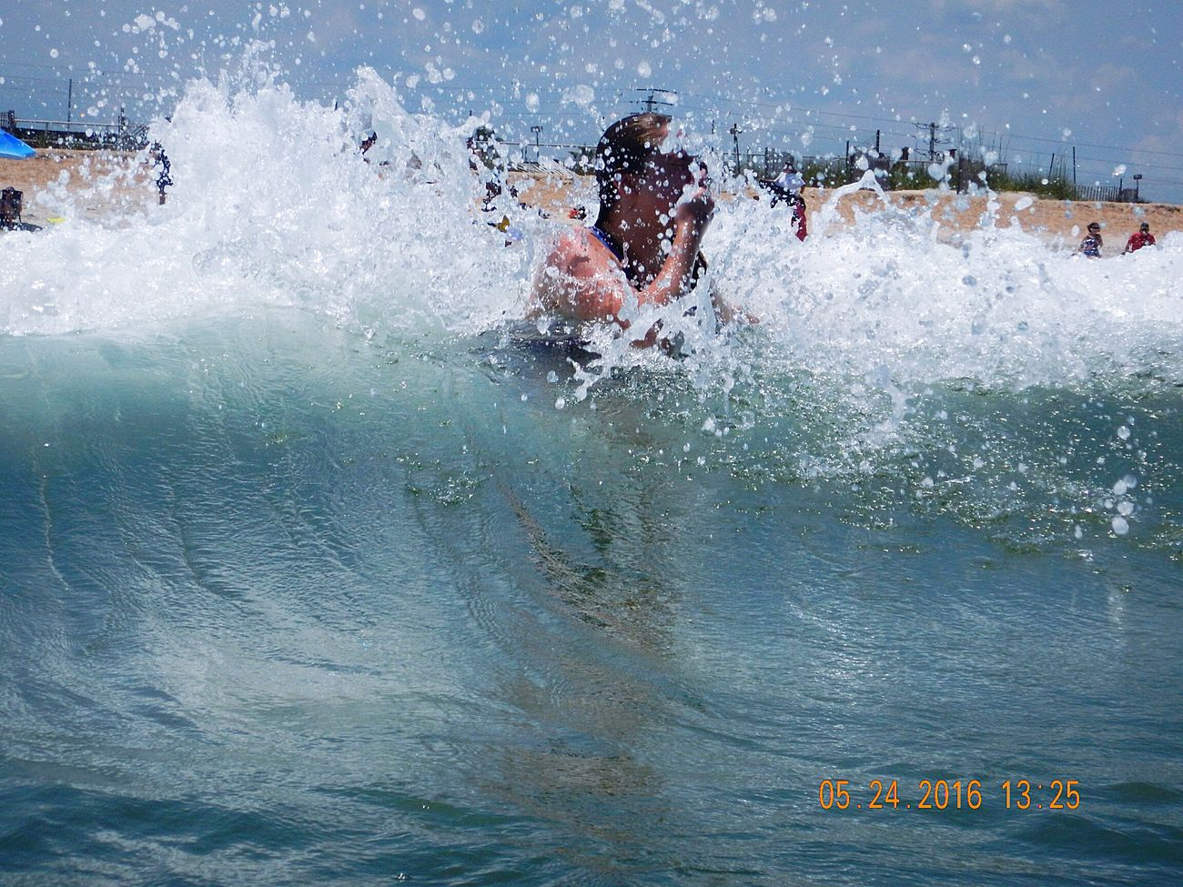 One Person Leisure Activity Water EyeEmbestshots Pictureoftheday Eye4photography  Check This Out Taking Photos Enjoying Life Vacation Travel Destinations Family Vacation FamilyTime FAMILY <3 Splashing Waves Splash Photography Ocean Waves Ocean Photography Ocean_Collection ~~ Daughter Enjoying Nature Daughtersareawesome