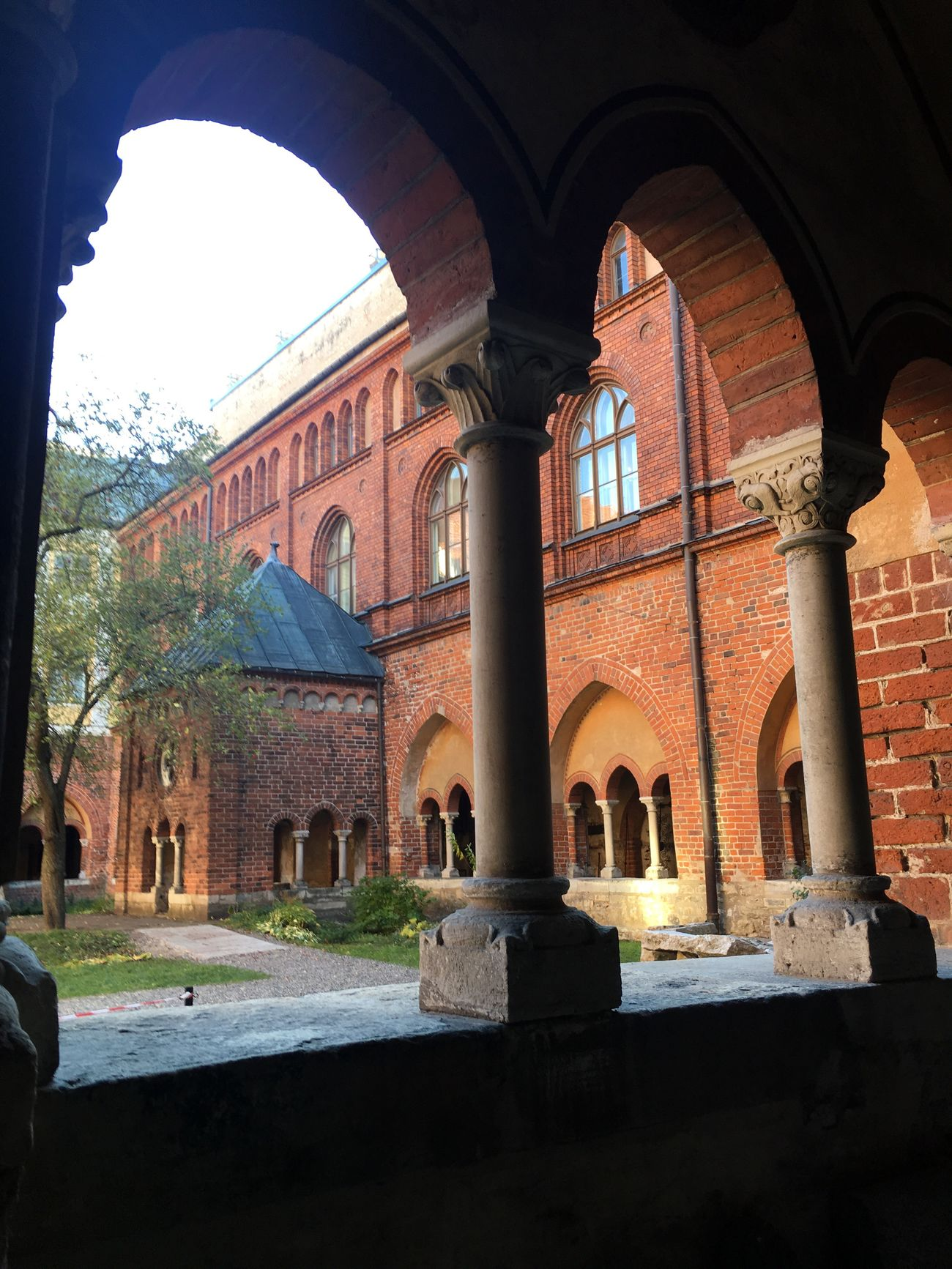 Riga Cloister Architecture View From The Window... Baltics2k16