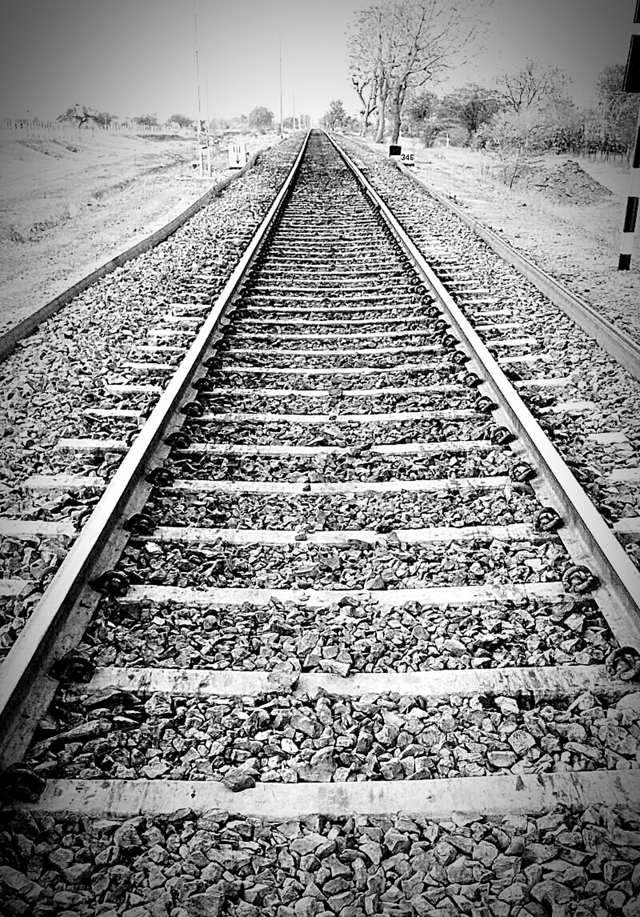 Learn & Shoot: Leading Lines Lineart Train Tracks Tranquil Scene Tracks Randomshot Check This Out Meherabad Learn & Shoot: Simplicity