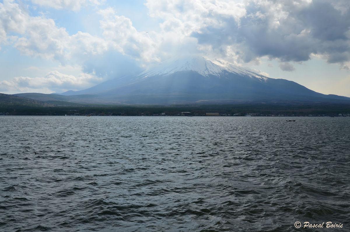 Beauty In Nature Cloud - Sky Day Japan Mont Fuji Mountain Mountain Range No People Outdoors Sky Water