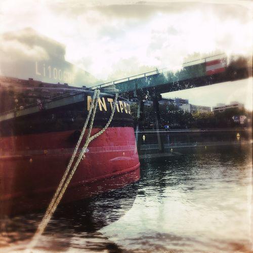 Water No People Outdoors Nautical Vessel Multiple Exposures Hipstamatic