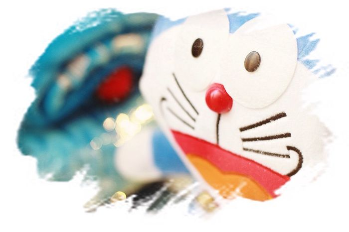 I love you ,I still remembered the tough time ,and you are my sweetie Doraemon