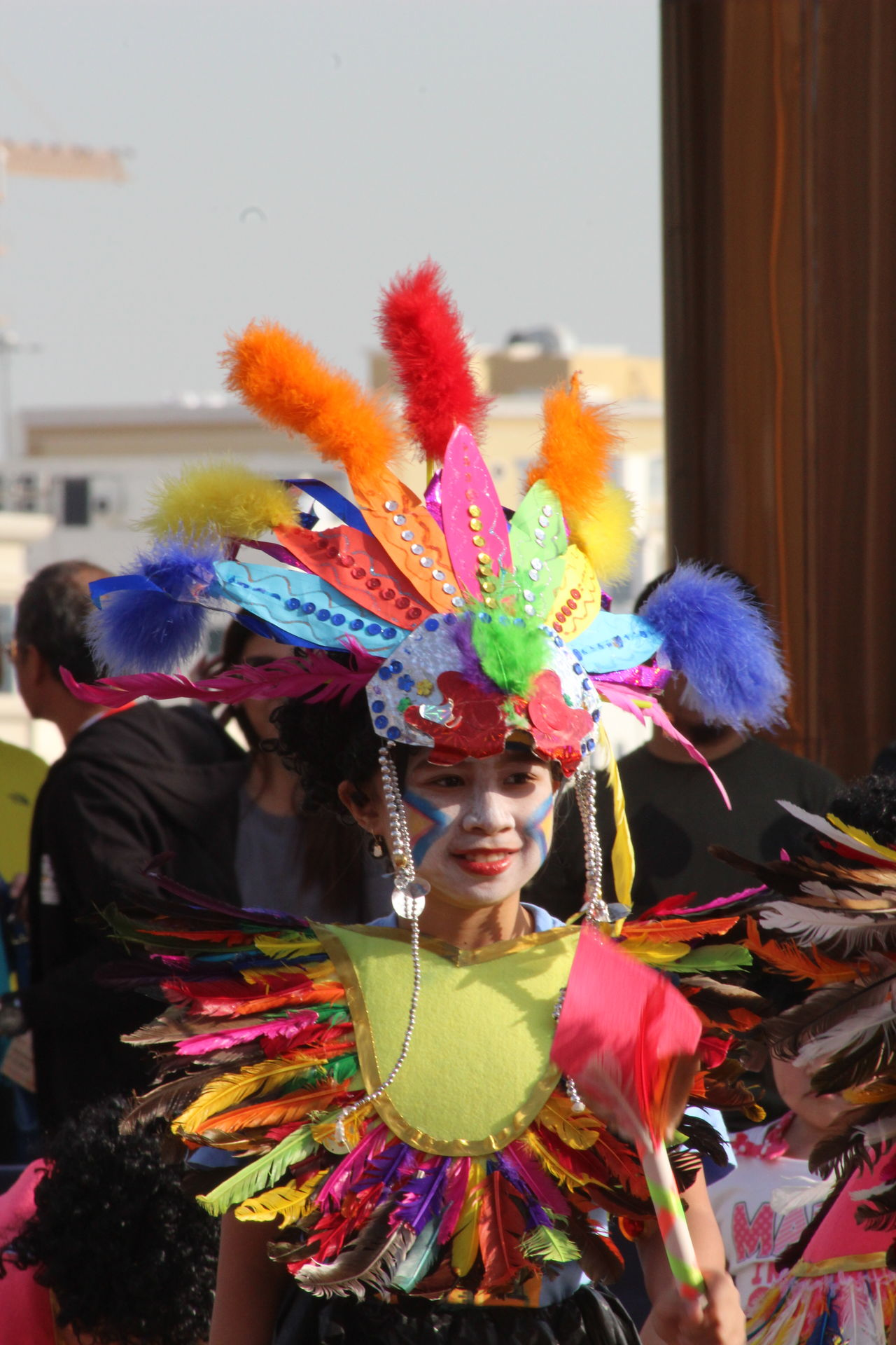 Multi Colored Celebration Arts Culture And Entertainment Cultures Real People Holiday - Event Lifestyles Fun Day People Outdoors Adult EyeEm Phillipines Performing Arts Event Colorful Eyeem Philippines Traditional Clothing Headdress Annual Event Eyeem Photo Portrait Close-up