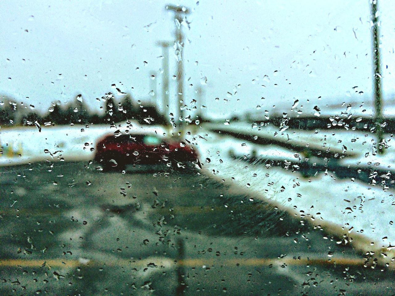 Rain - 2015 Canada My Daily Commute Taking Photos Rain Winter EyeEm Best Shots Car Window AMPt_community IPhoneography