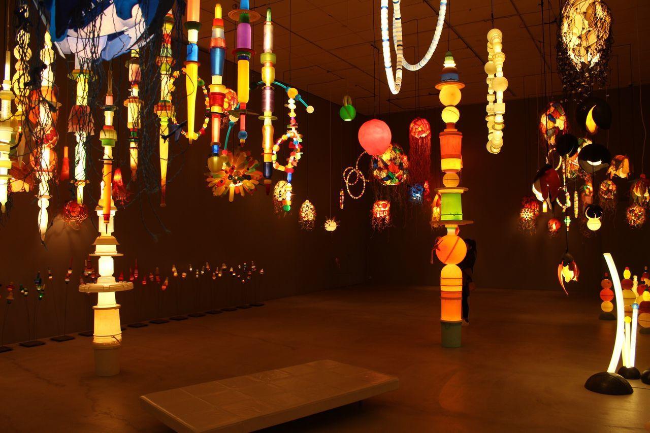 十和田現代美術館 Aomori,japan ヨーガンレール Lighting Equipment