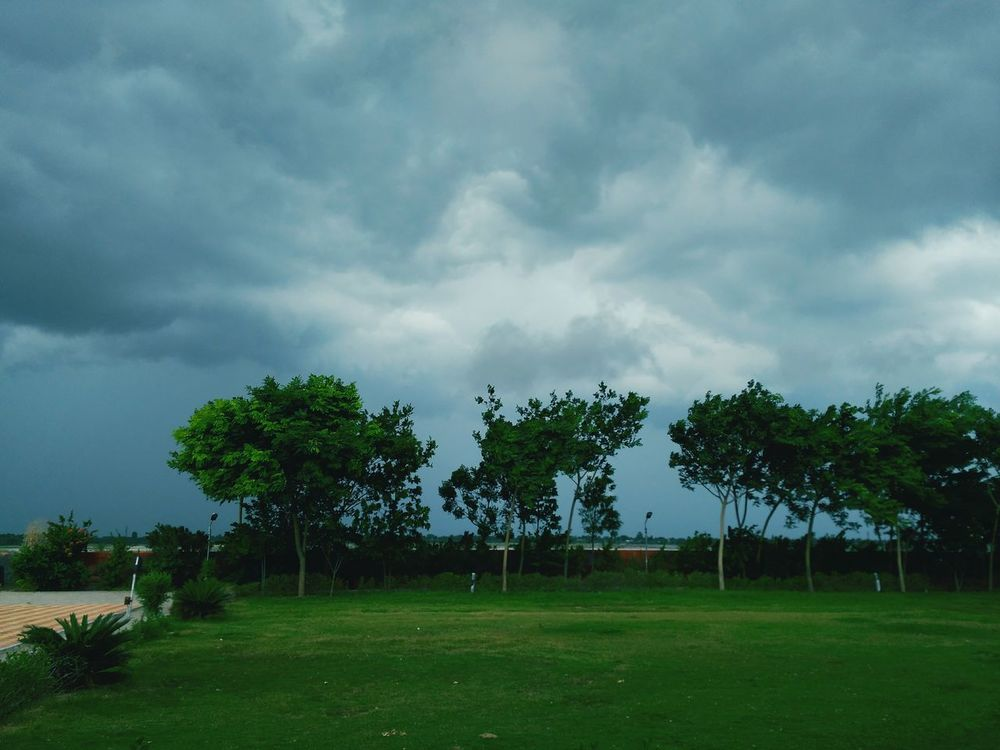 Clouds in desert. Clouds And Sky Nature Photography Weather Photography Greenery Trees Bikaner Rajasthan India