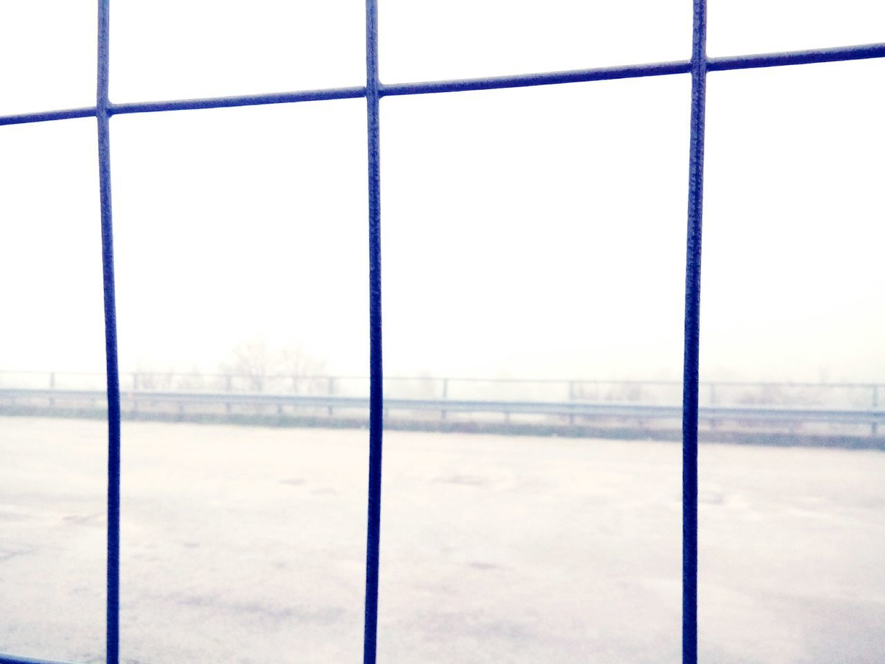 Fog. Fog Day No People Nature Sky Outdoors Gas Station Autostrada Undergroundphotography