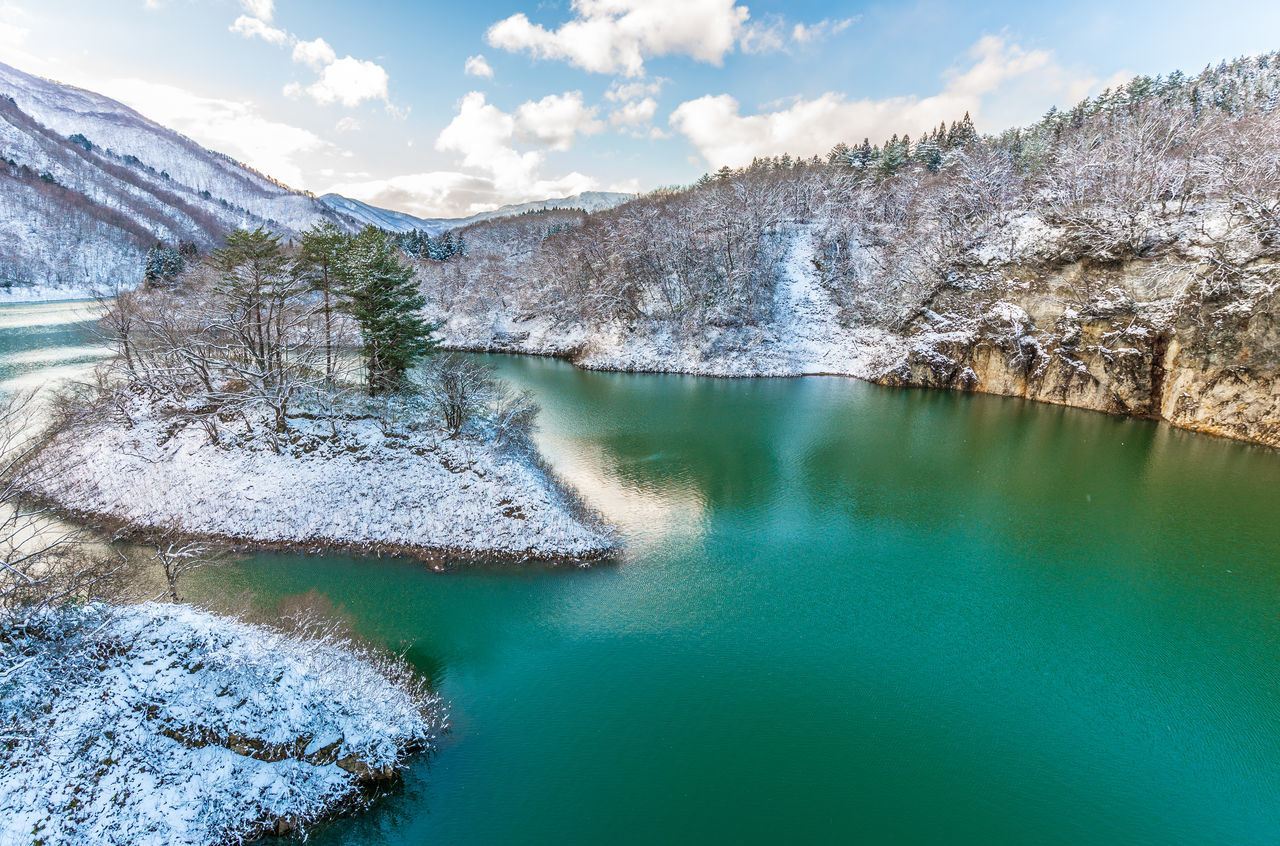 Cloud - Sky Japan Lake Landscape Miyagi Mountain Nature No People Outdoors Roadtrip Tohoku Tree Water