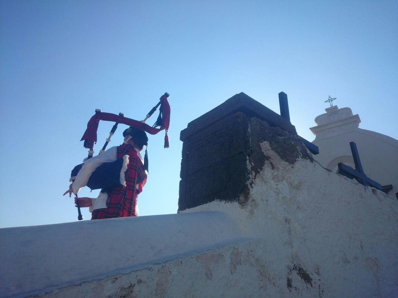 BAGPIPER ON ISCHIA, Italy. He played for the groom at an Italian-Scottish wedding. Italy Ischia Capture The Moment Wedding