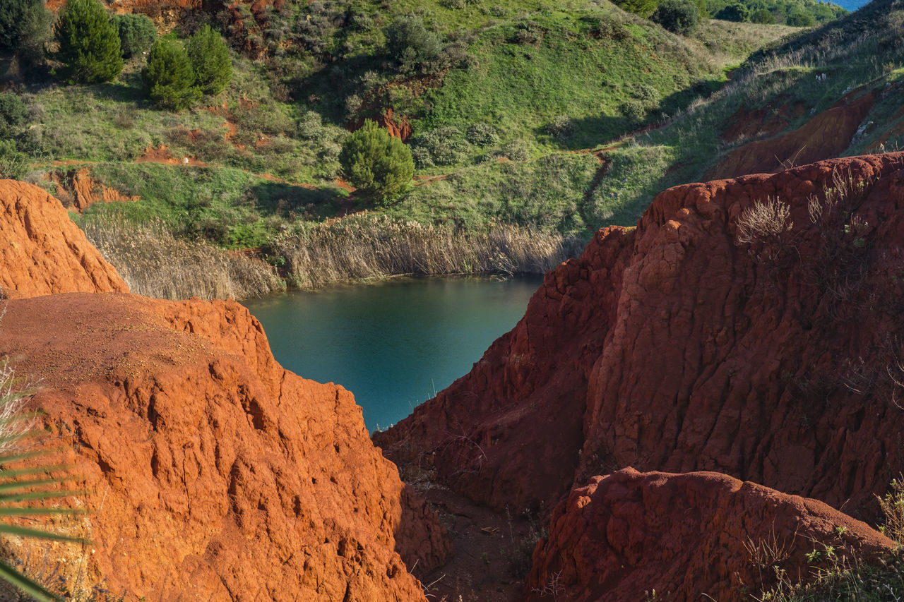 Bauxite Bauxite Cave Cave Day Environmental Conservation Lake Lake View Landscape Nature No People Outdoors River Rock - Object Scenics Social Issues Stream - Flowing Water Tourism Travel Destinations Vacations Water Waterfall