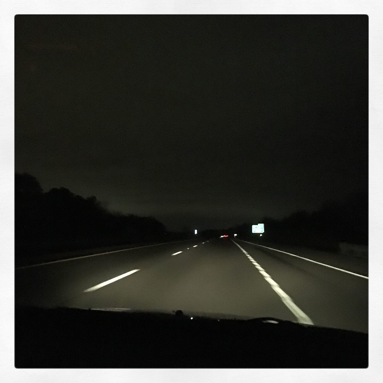 Road Road At Night Driving Highway Interstate Driving At Night Roadtrip Moody Night Lights In Distance Lights In Darkness Cruising