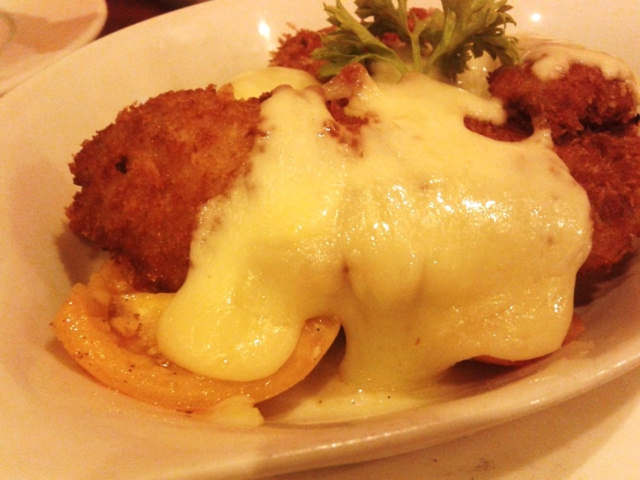 Chickenfillet with Mozzarella