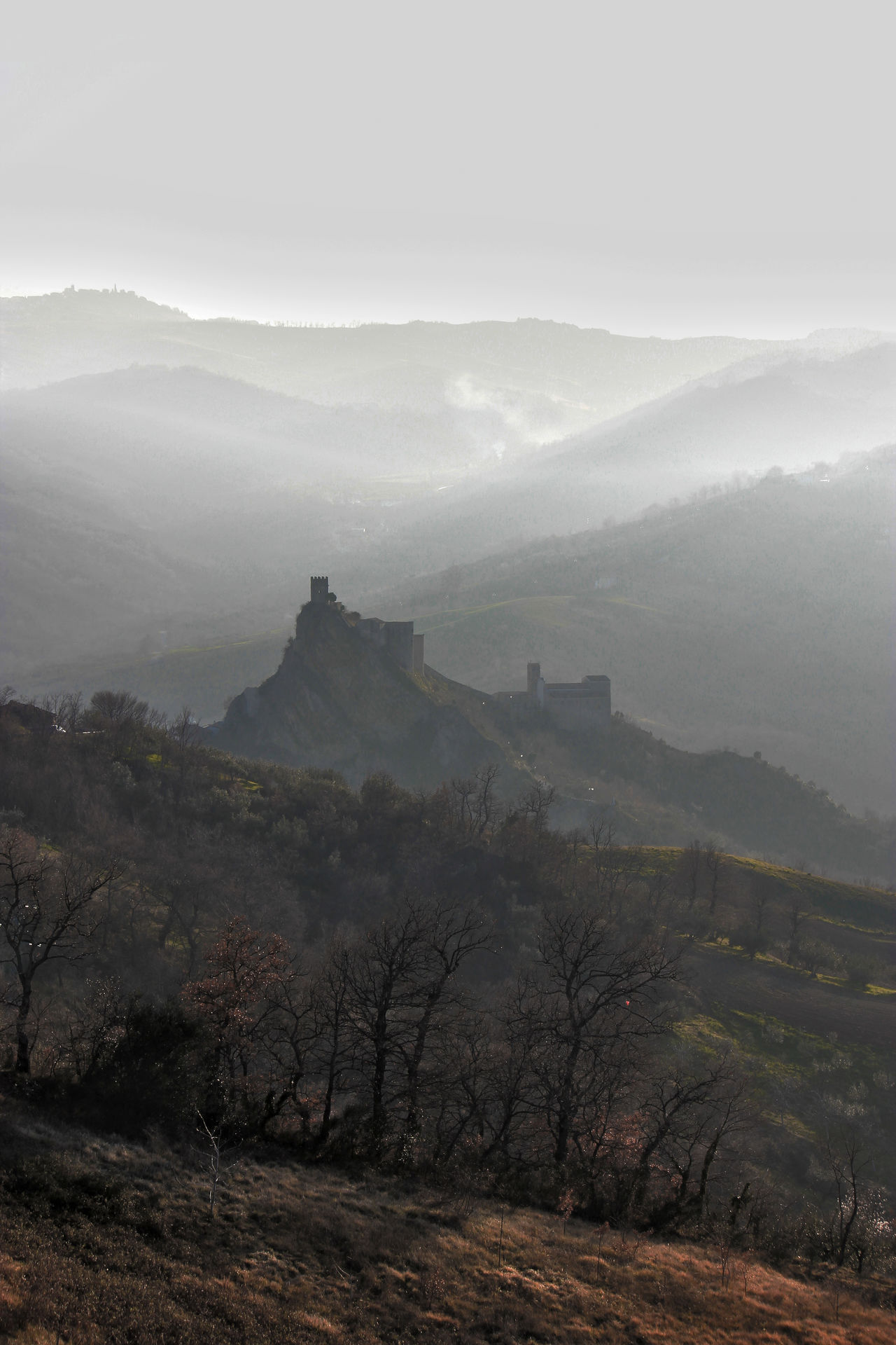 Beautiful stock photos of castle,  Castle,  Day,  Fog,  Hill