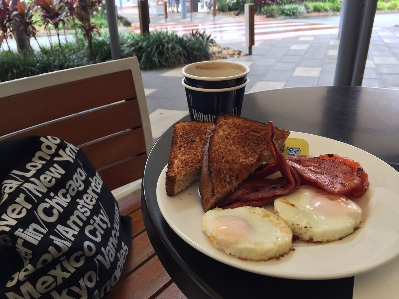 Aussie breakfast On A Holiday Starting A Trip MOUF