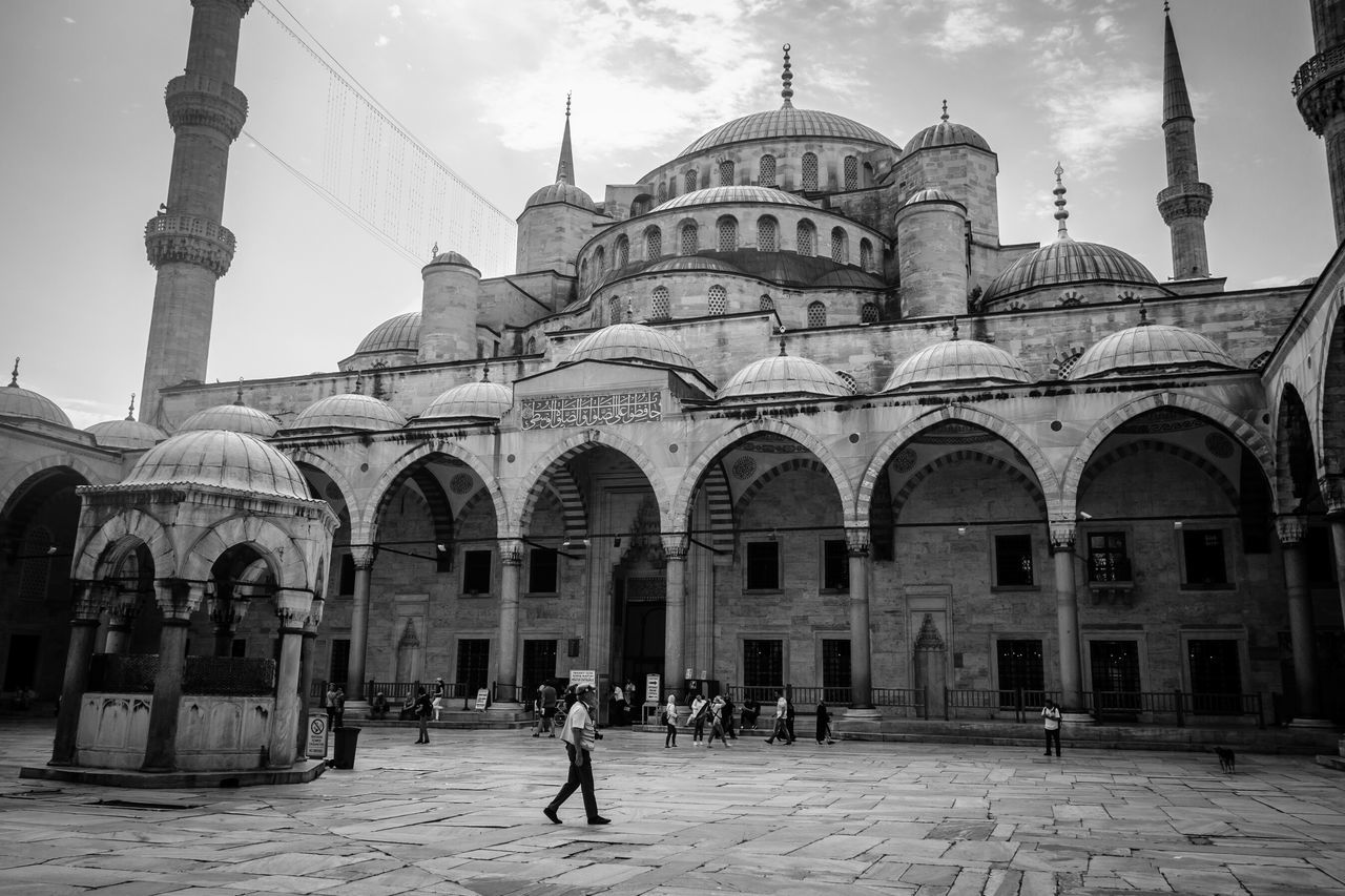 Sultanahmet Mosque Black And White Amazing Architecture The Architect - 2015 EyeEm Awards Istanbul Turkey