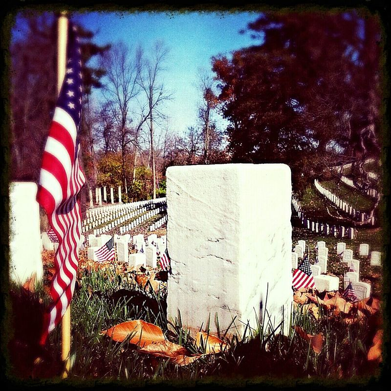 Soldiers Veterans Day Cave Hill Cemetary