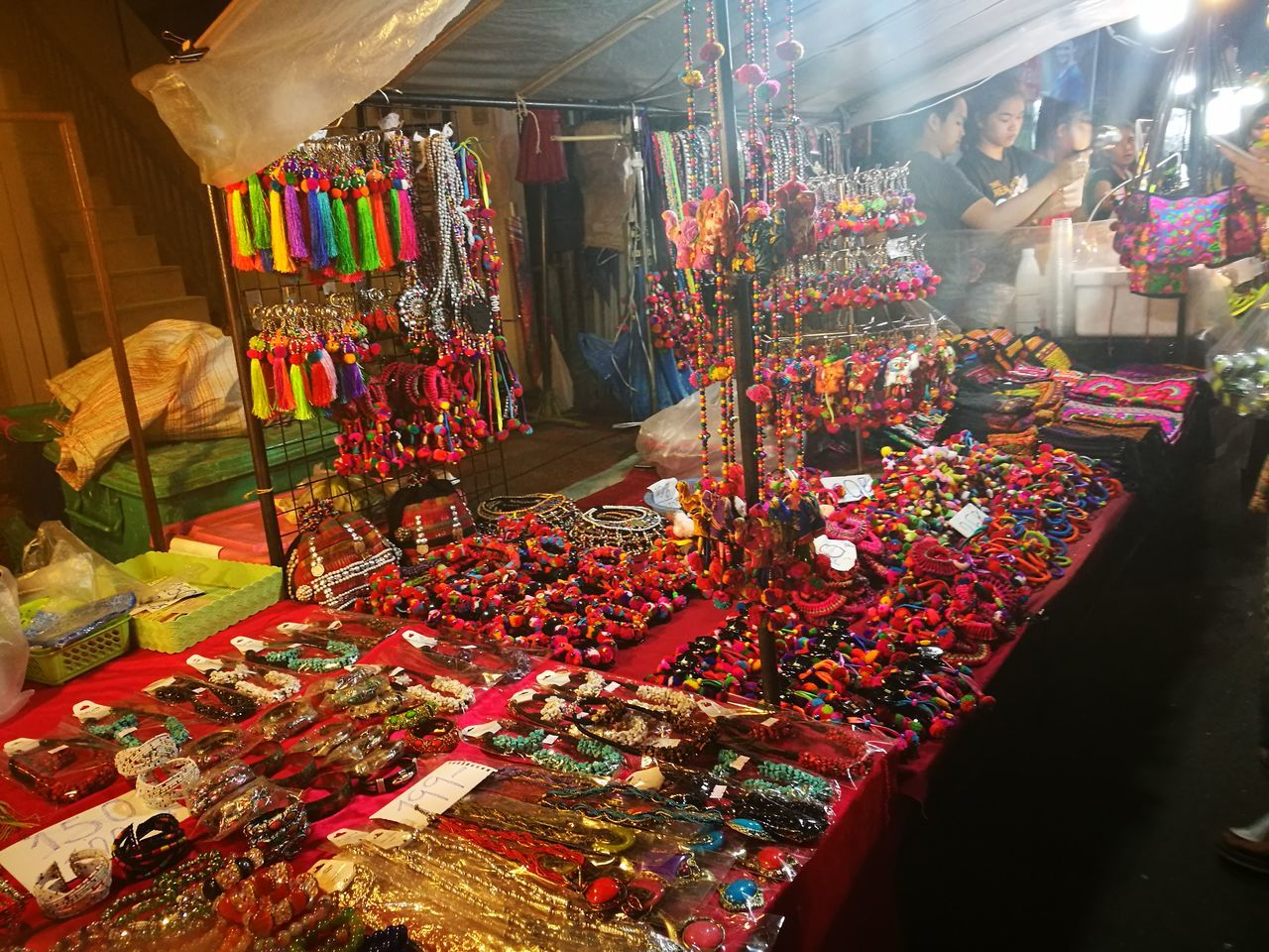 Business Holiday - Event Market Night Gift Hello World HuaweiP9 Relaxing OpenWorld Hanging Out Noedit Thailand Chiang Mai Celebration Multi Colored Christmas Decoration Christmas Variation Illuminated No People Christmas Ornament Business Cultures Holiday - Event Market Stall