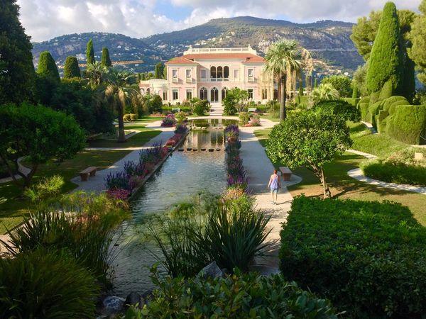 Cap Ferrat France Provence Gardens Villa Architecture Building Exterior Travel Destinations House Travel Beauty In Nature Château