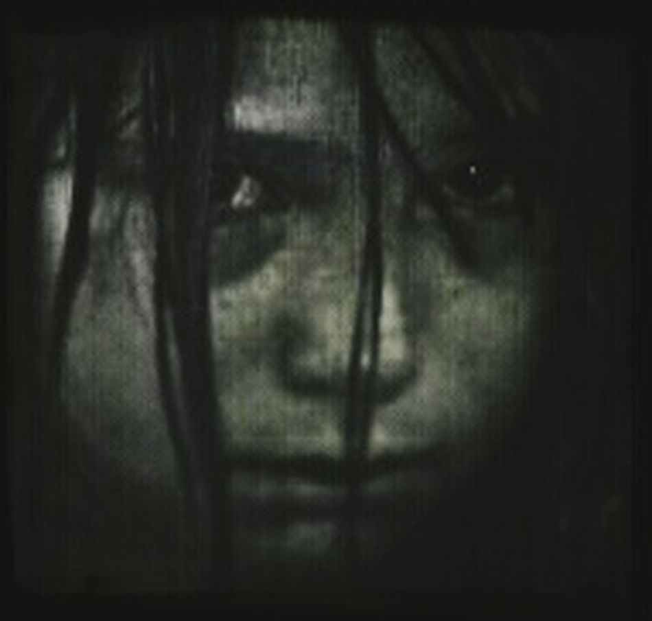 Monochrome Child Emotiom Portrait Black & White Grainy Portrait Of A Friend Daughter London Ontario