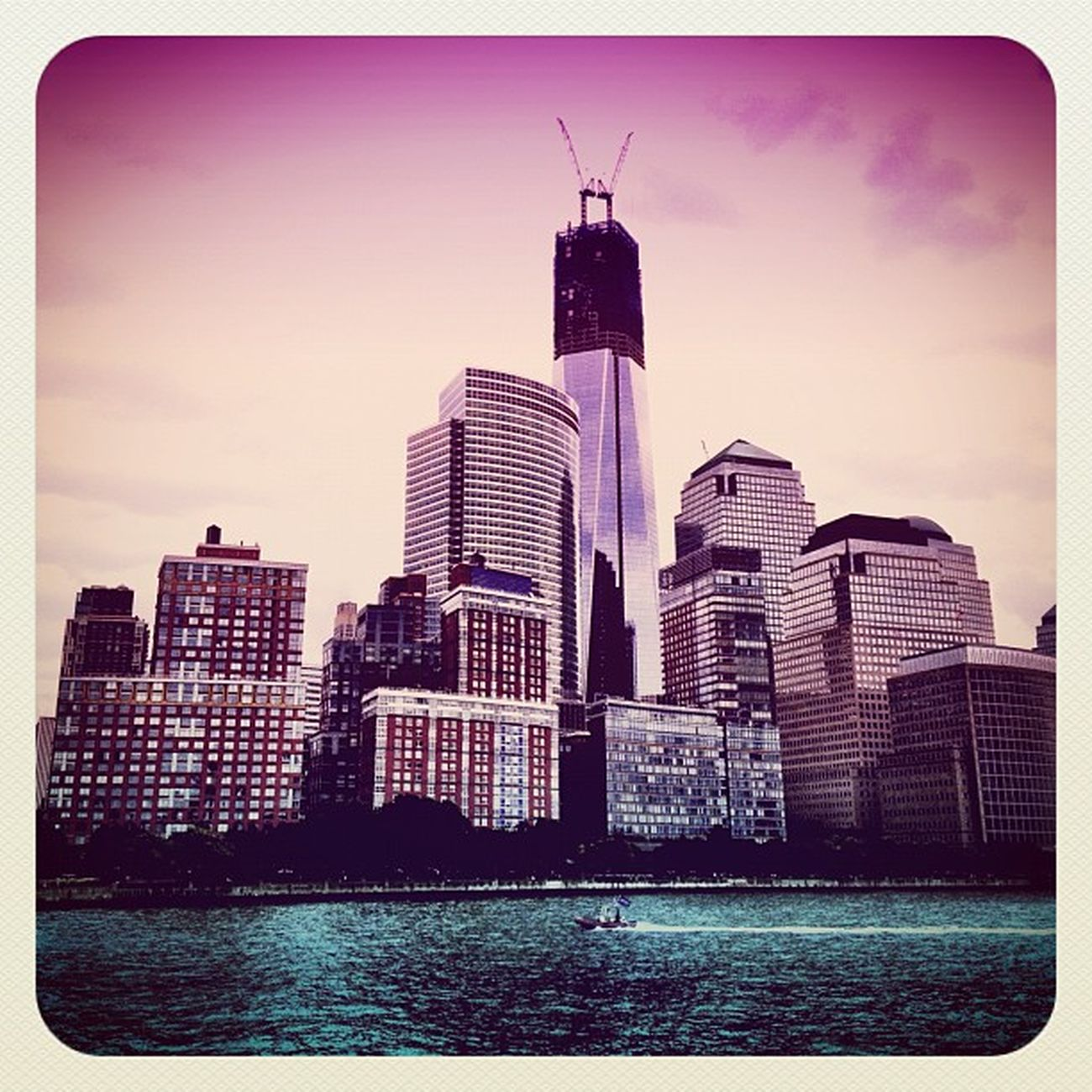 Manhattan with #freedom #tower #wtc #alanisko_usa #deluxe_fx #ebstyles_gf #empirestate #earlybirdlove #hudson #jj #jj_forum #manhattan #nyc #o2travel #skyscraper Deluxe_fx NYC Freedom Tower Skyscraper Hudson Manhattan WTC Jj  Earlybirdlove Jj_forum Empirestate Ebstyles_gf O2travel Alanisko_usa