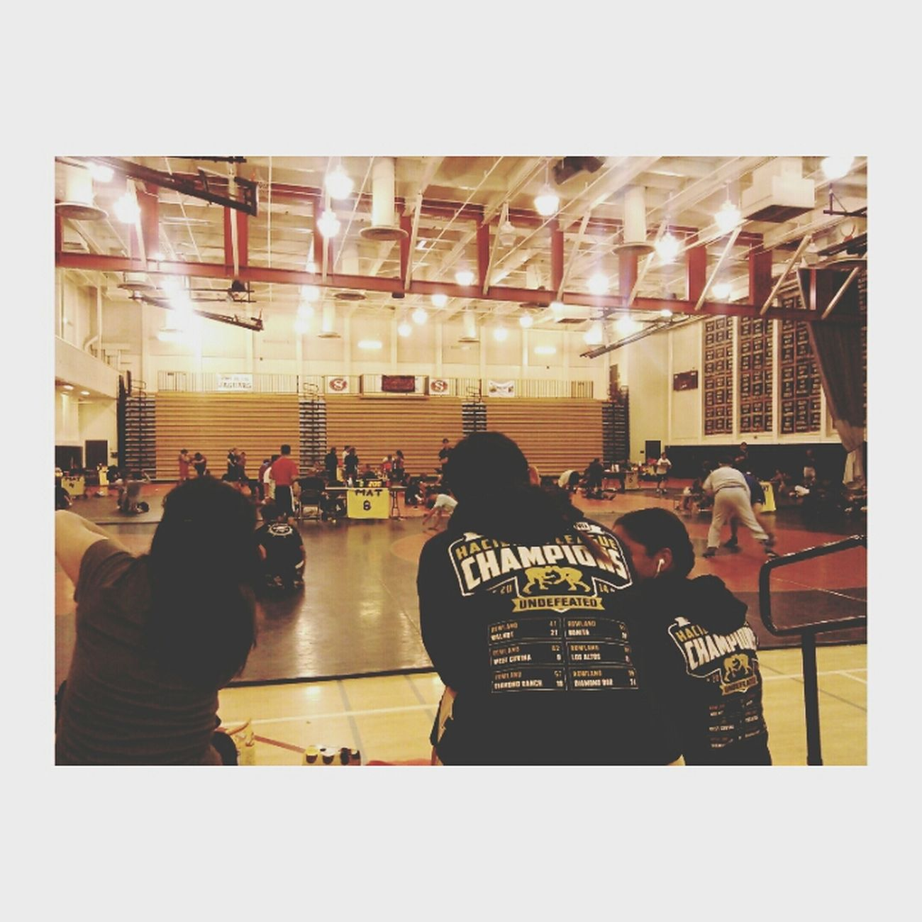 Wrestling today =)