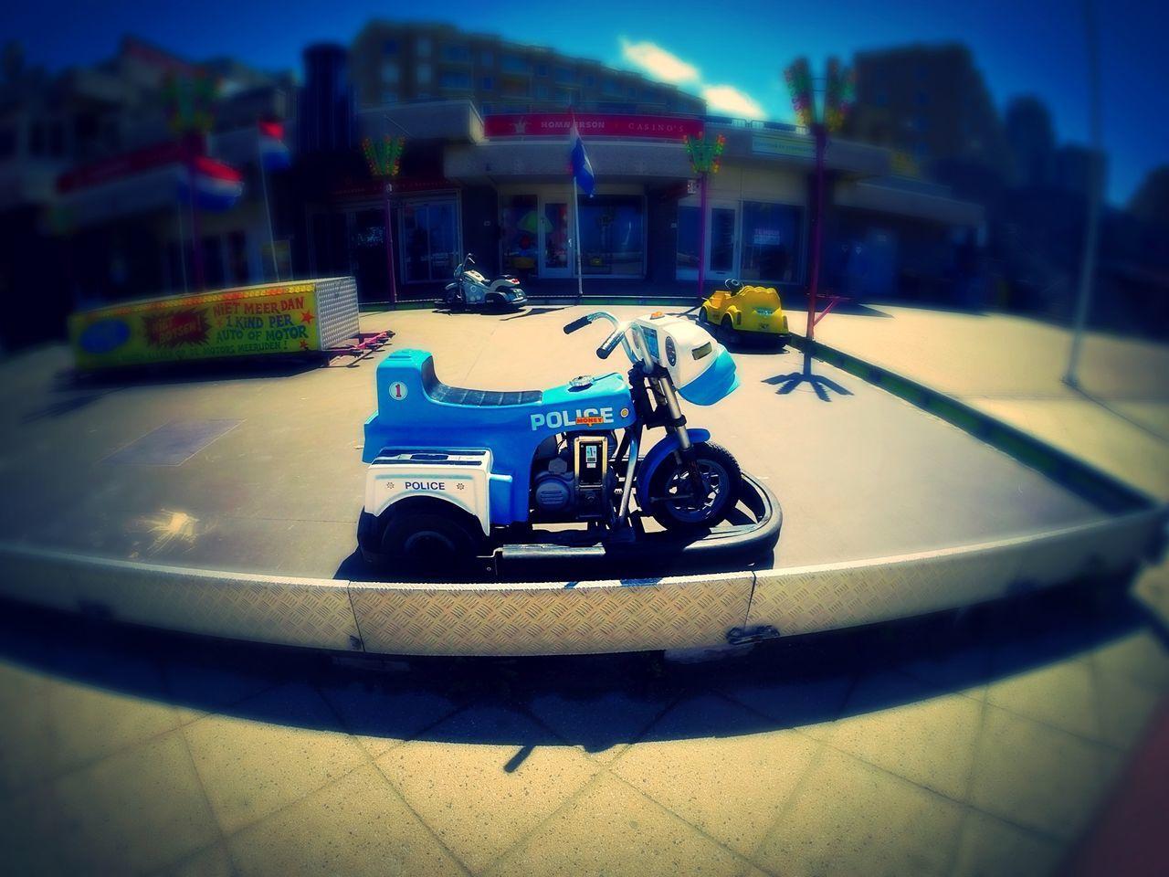 Police Cops Motorbike