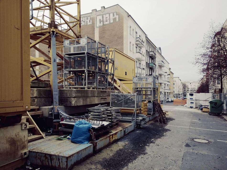Architecture Building Exterior Built Structure Construction Construction Site Day Factory No People Outdoors Sky Streetview