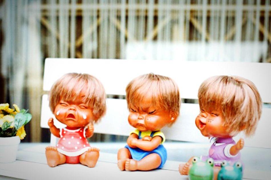 Haingout I Like This Crying Upsetting Smiling😭😤😄 Baby Dolls So Cute EyeEm Best Edits in Bukchon Hanok Village, Seoul, Korea