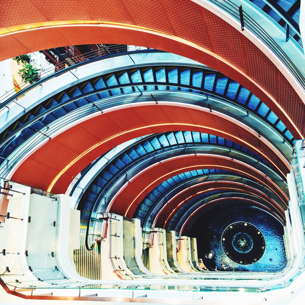 Shanghai photography -- stair eye My Street Photography Shanghai Shanghai Photography Streetphotography Stairs Circle Stair No People Spiral Staircase Modern From My Point Of View Shanghai Streets My City IPhoneography Taking Photos