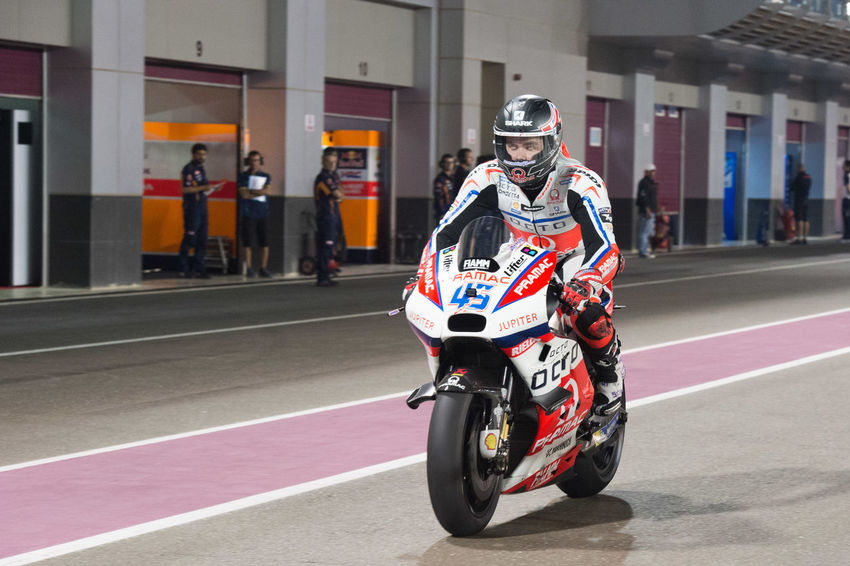 MotoGP riders during the final preseason test before the start of the 2016 MotoGP season Losail LosailCircuit Motogp MotoGP2016 Motorcycle Motorsports Preseason Qatar Race Racing Scottredding Test