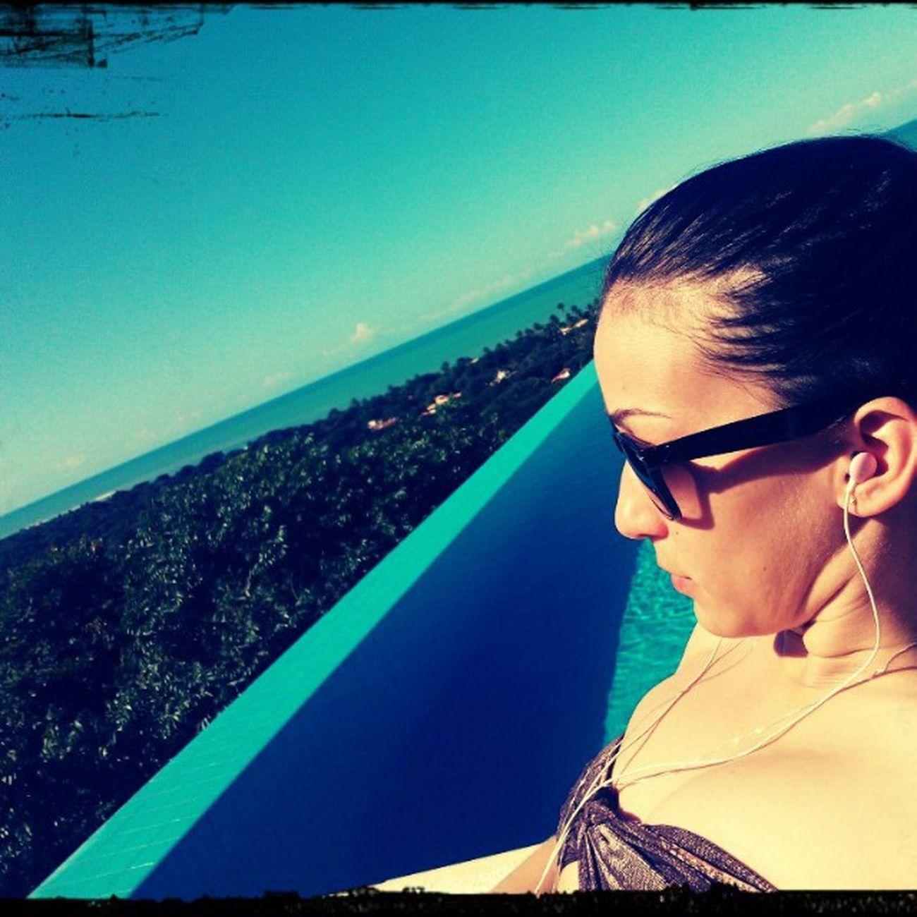 ❤ Bahia ❤ Eu volto ❤ Bahia Bahiadetodosossantos Praia Summertime summerdays miniferias 2013 missyou alone feliz pontearea beachday poolday