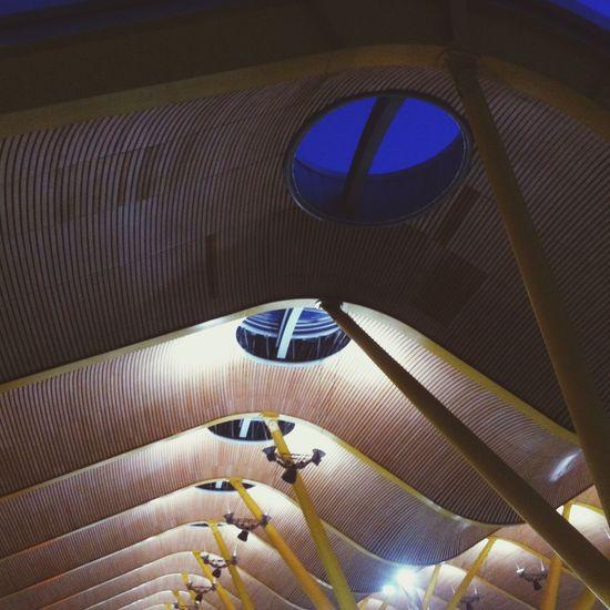 Madrid City Architecture Aeropuerto