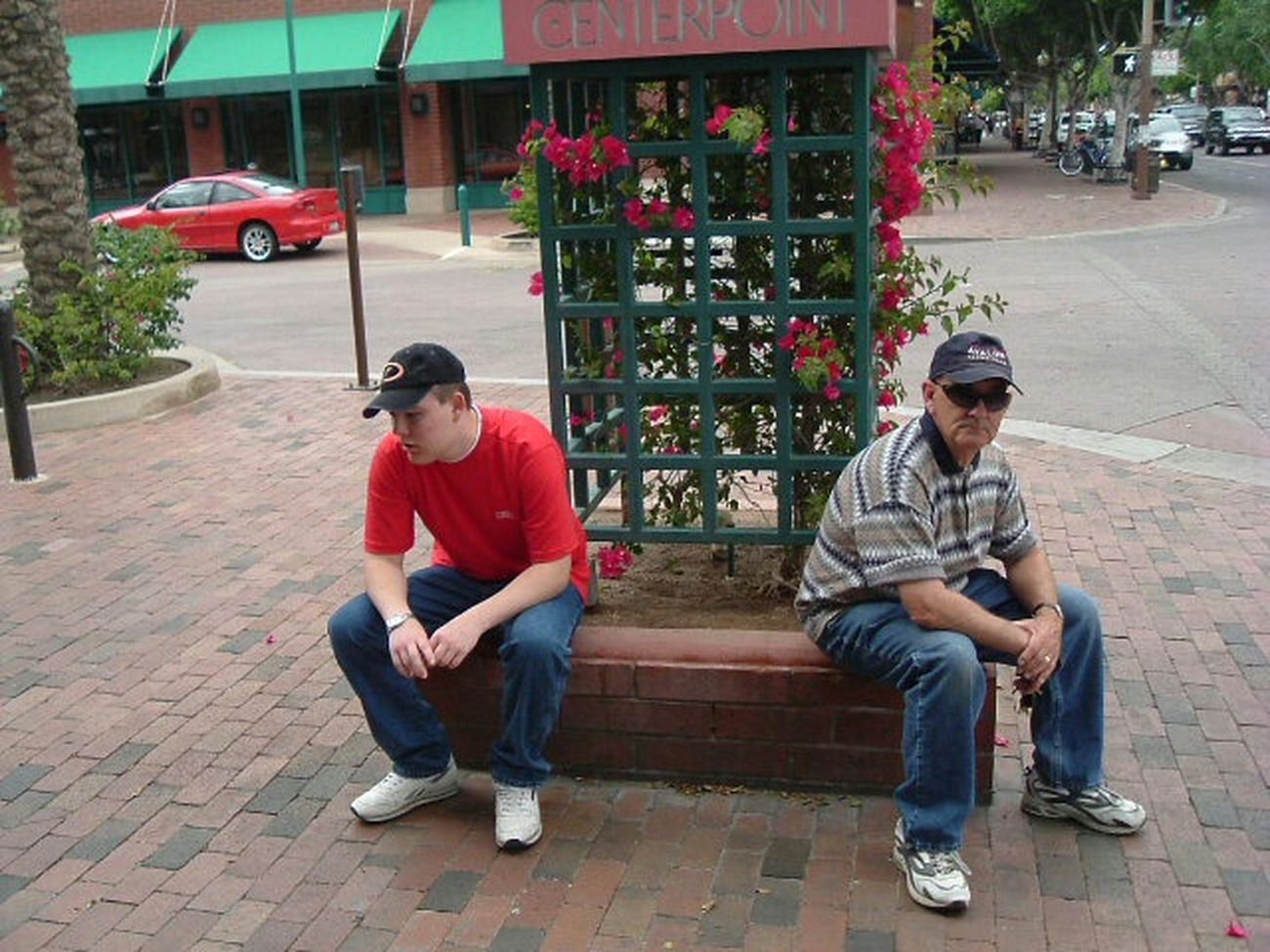 Unhappy to be shopping... Hanging Out Shopping Bored Boredom Fed Up Scotsdale Arizona Snapshots Of Life