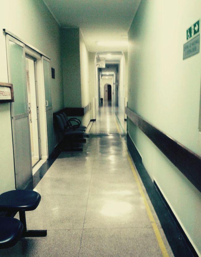 Hospital Walking Corridor Door Fear