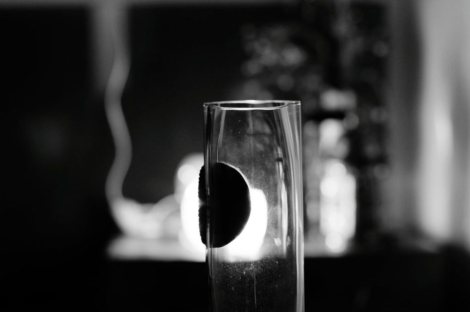 Drinking Glass No People Close-up Fragility Indoors  Shot Glass Sony Alpha 50 Mm F/1.8 50mmlens Black & White B&WPhoto