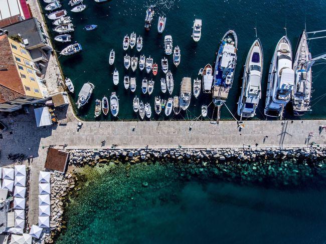 Perspektivwechsel mit neuen Möglichkeiten Water Habour Dronephotography First Eyeem Photo Dji Sea And Sky Phantom 4