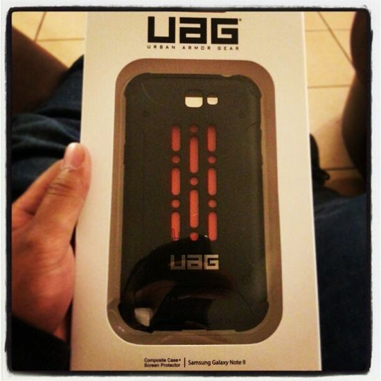 This just in. No more stress. UrbanArmorGear Uag Phonecase Screenprotector Note2