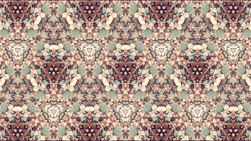 Kaleidoscopic Beachsand Astral Carpet