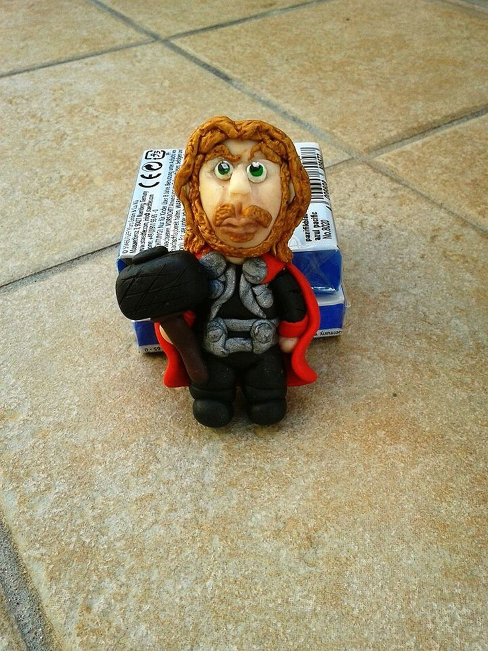 Polymer Clay Clay Fimo Fimolovers Thor  Avengers Handmade Fattodame