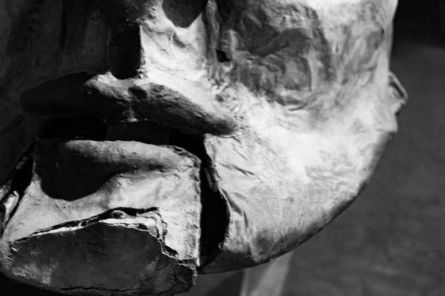 Broken mouth, broken words, broken promises. Broken Promises Mask Photography Diadelosmuertos Tucson Az Funeral Chapel Blackandwhite Photography Thephotographer Faces Papermache