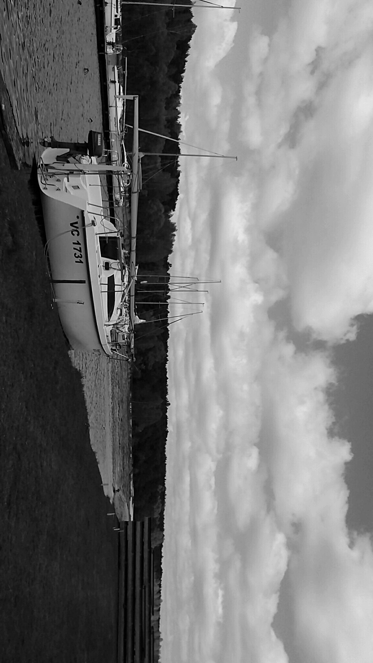 Ship Ships⚓️⛵️🚢 Ships🚢 Shiplife Ships On The Water Ships Boats⛵️ Boating Boat Water Outdoors Day Boats And Water Boats On Water Boats Blackandwhite Clouds Sky Beautiful Black Black And White Telephone Photography