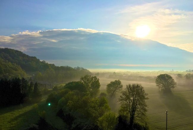 Campagna. Alba Campagna Campagna Veneta Alba Nebbia Landscape Landscapes Galzignano Terme Colli Euganei Mattina Di Nebbia Morning Sky Morning Light Morning View Travel Travel Photography Traveling Italia Italy Italy❤️