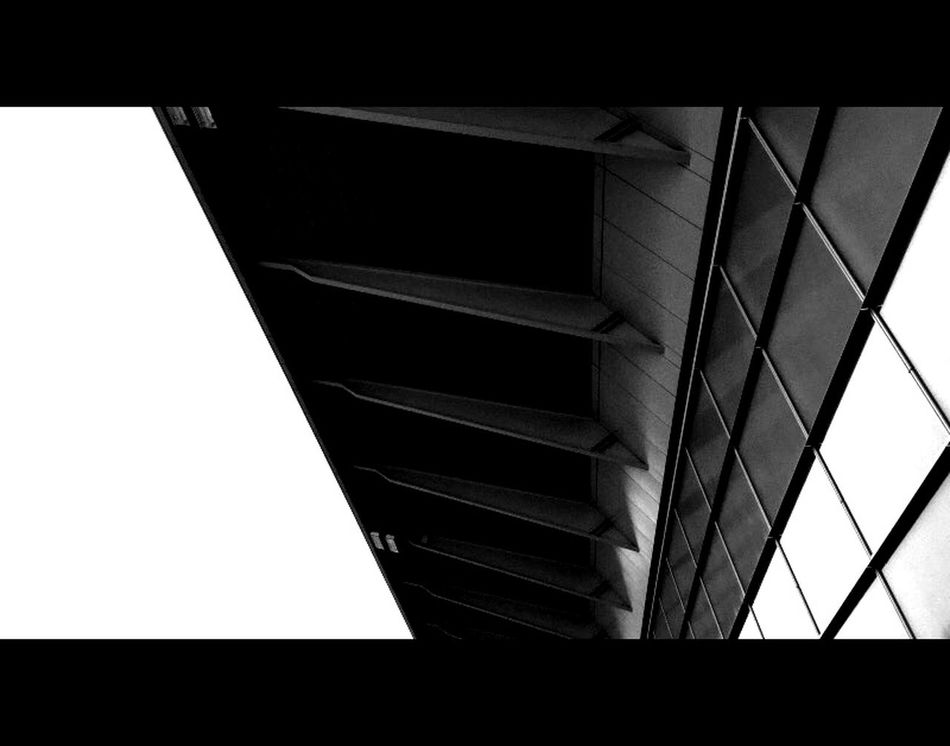 Ambition. 1.78:1 Black And White Perspective Airport