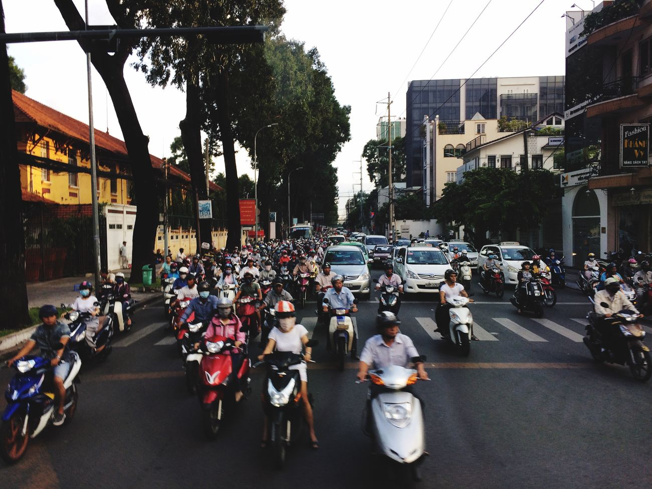 ホーチミン バイク Bike Ho Chi Minh Summer2015 Summervacation