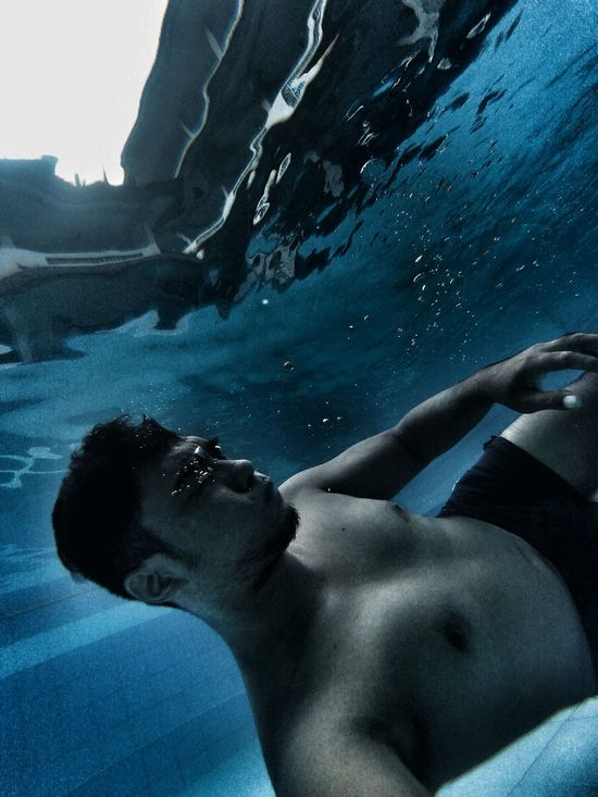 Drowning 📷 gopro hero 4 session One Person Blue Adults Only Only Men People One Man Only Underwater Water Adult Swimming Young Adult Swimming Pool Close-up Day Outdoors Men Real People Emotional Emotional Photography Healthy Lifestyle Leisure Activity